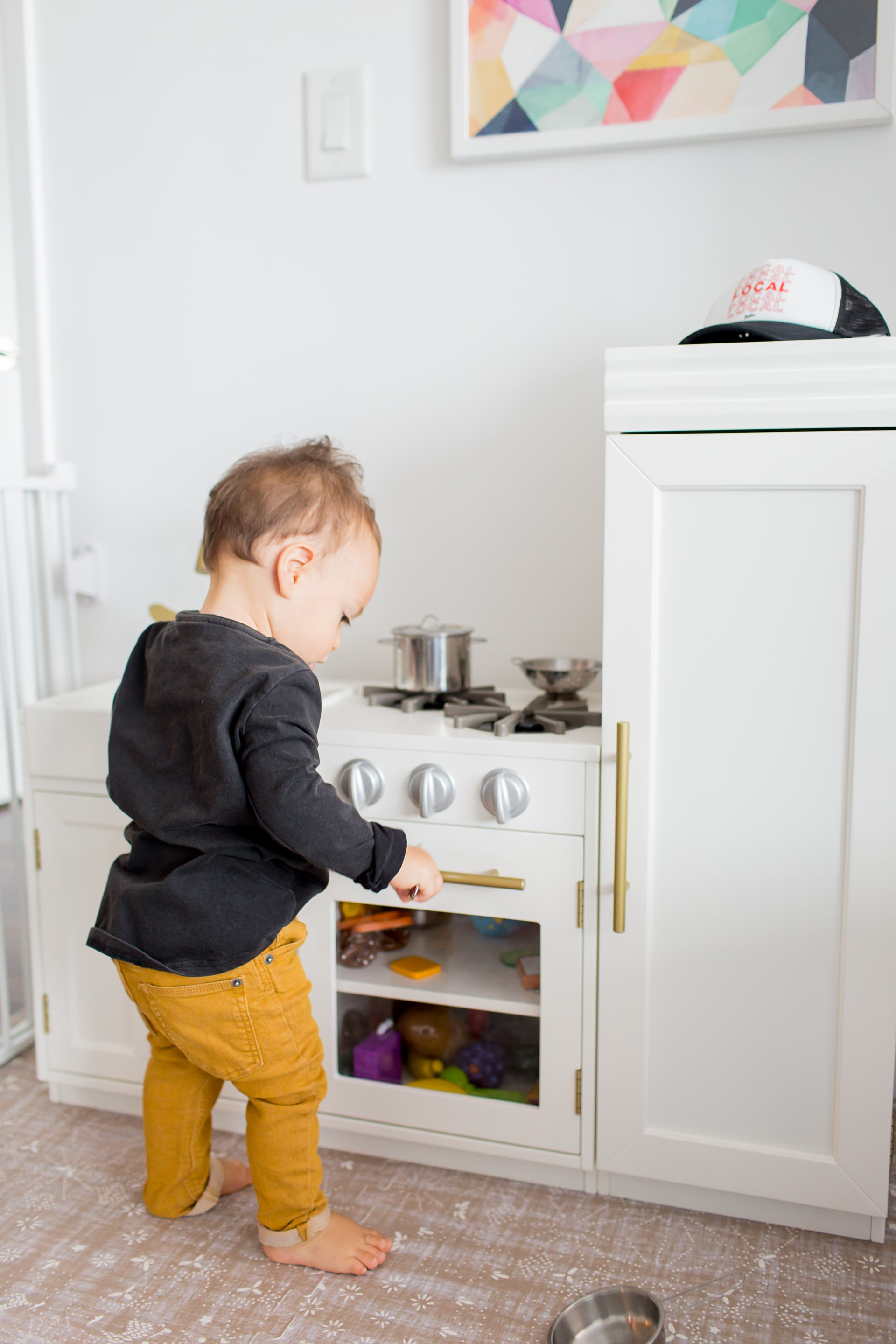 Luca's Feeding Schedule at One Year and Weaning