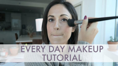 makeup video tutorial: my every day look