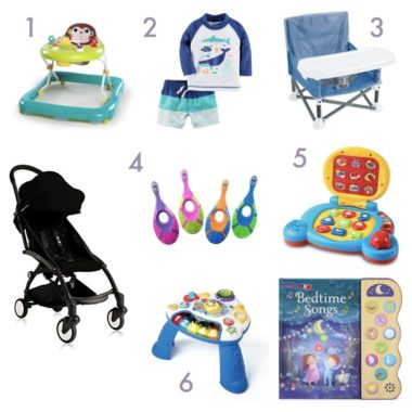 baby favorites: month 8
