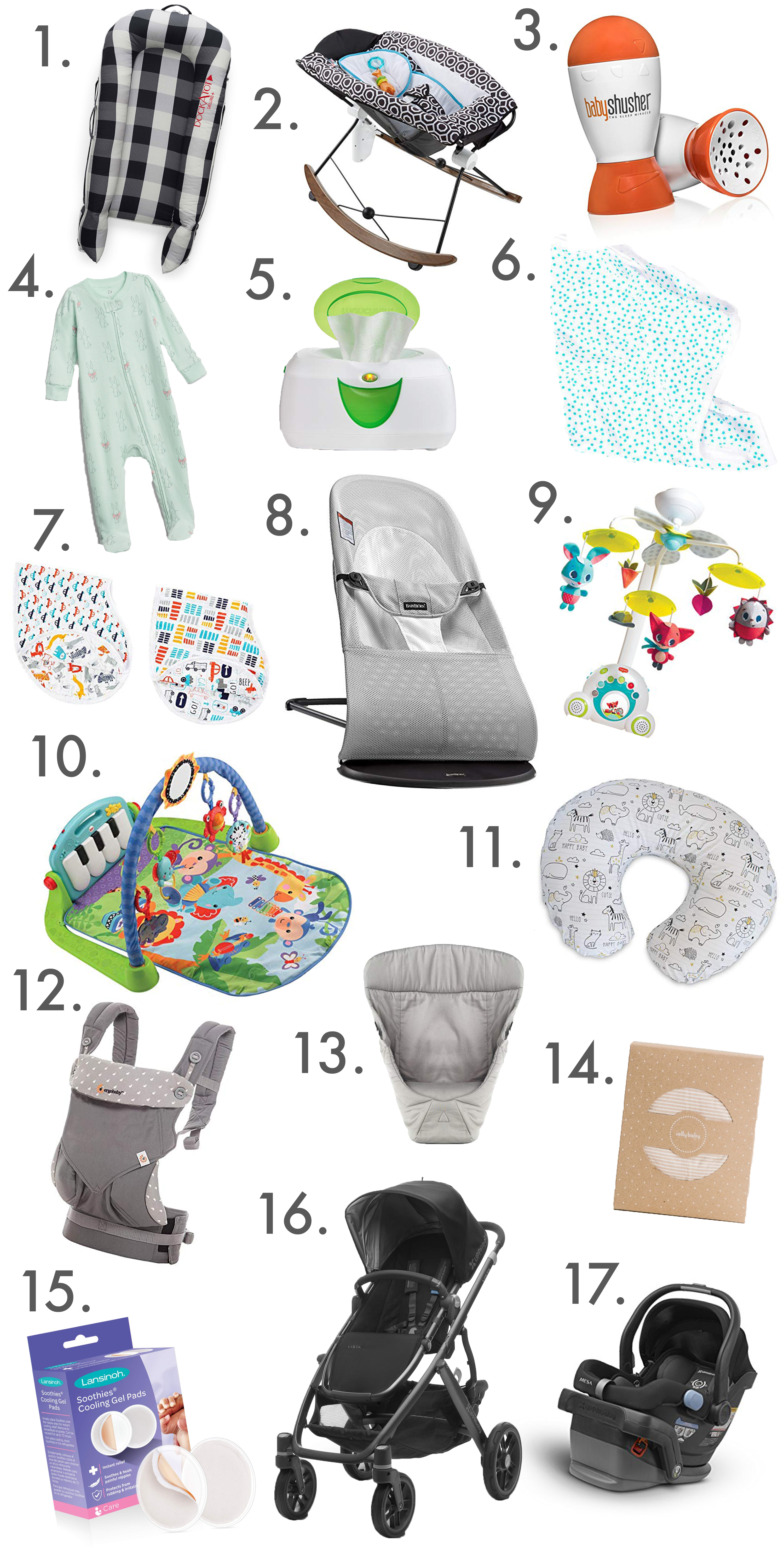 Inspiralized: baby registry must-haves