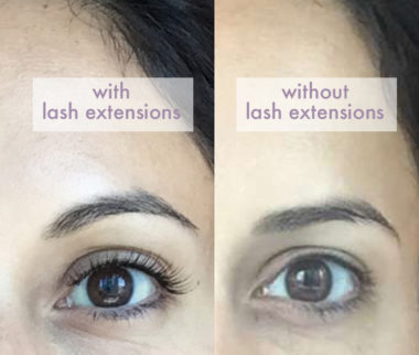 eyelash extensions: why I took them out early & why I'll get them again