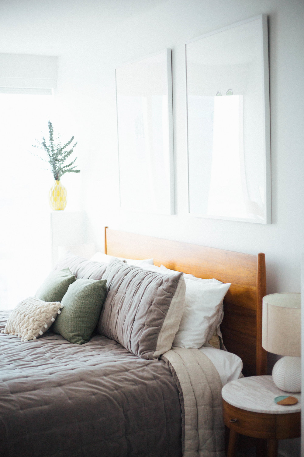 Redecorate My Living Room: Inspiralized: Before And After: Our Bedroom