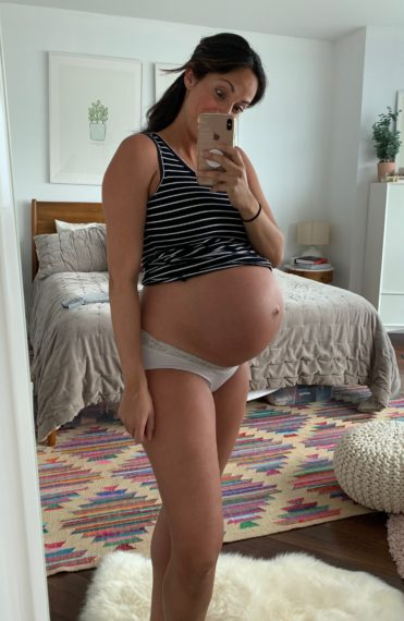 Pregnancy Recap, Weeks 33 to 37
