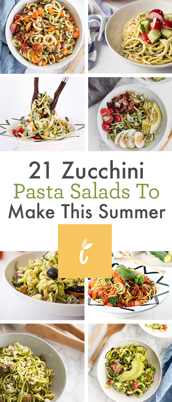 21 Zucchini Pasta Salads To Make This Summer