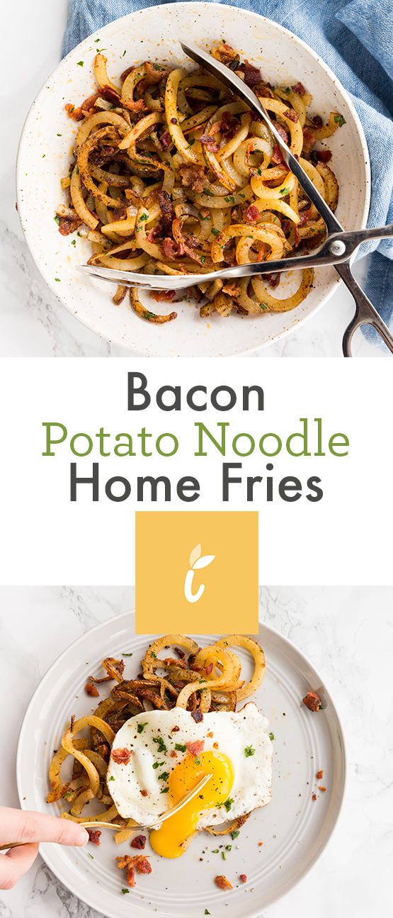 Bacon Potato Noodle Home Fries
