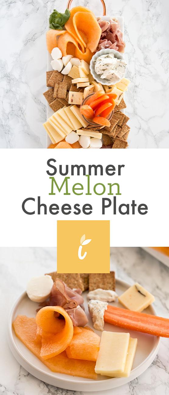 Summer Melon Cheese Plate