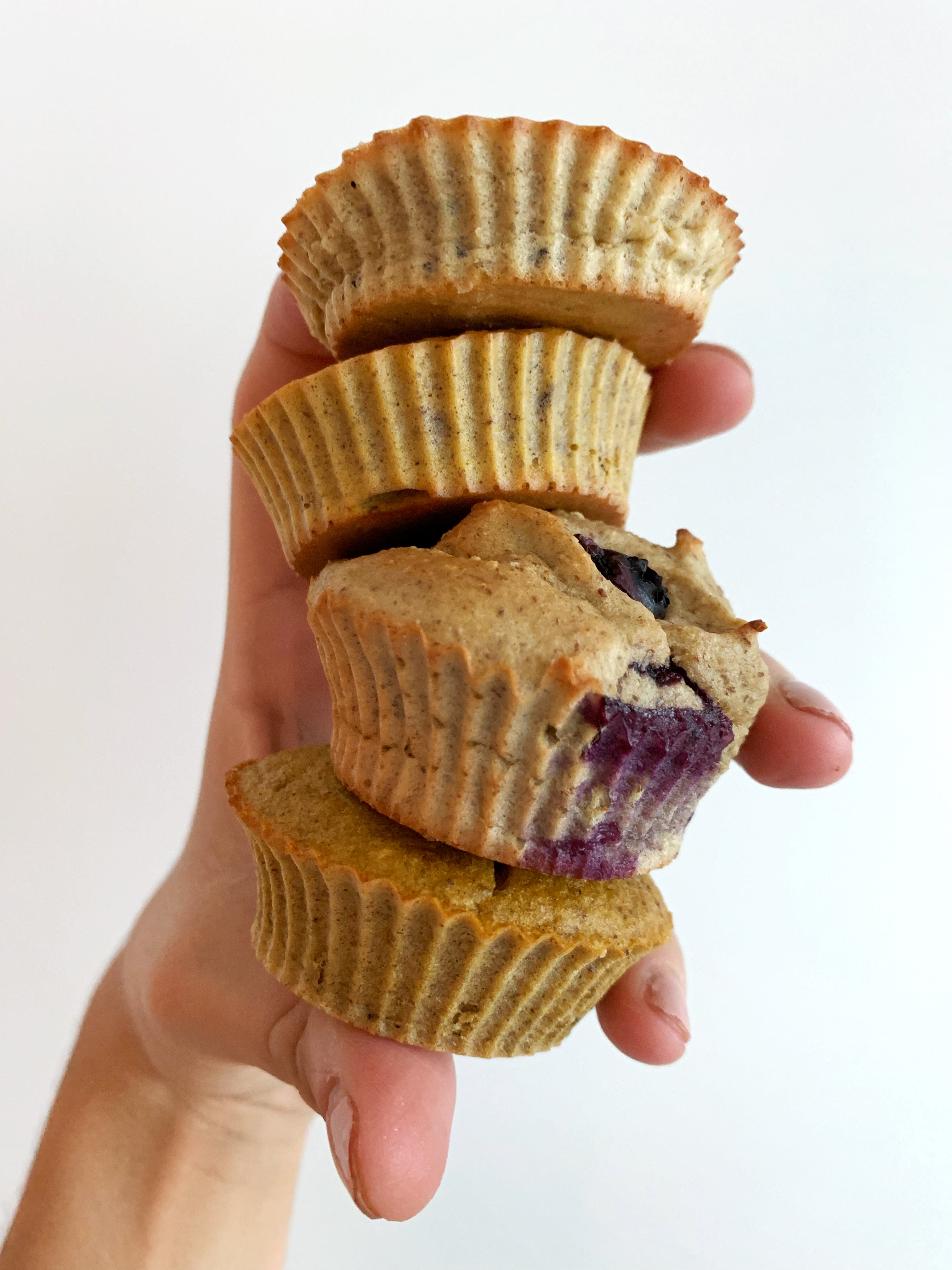 Blender Banana Nut Muffins