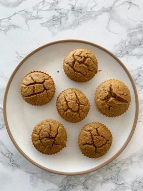 Blender Pumpkin Spice Muffins