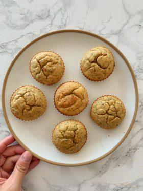 Blender Lemon Poppyseed Muffins