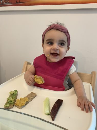Baby Led Weaning With Roma: Feeding Update
