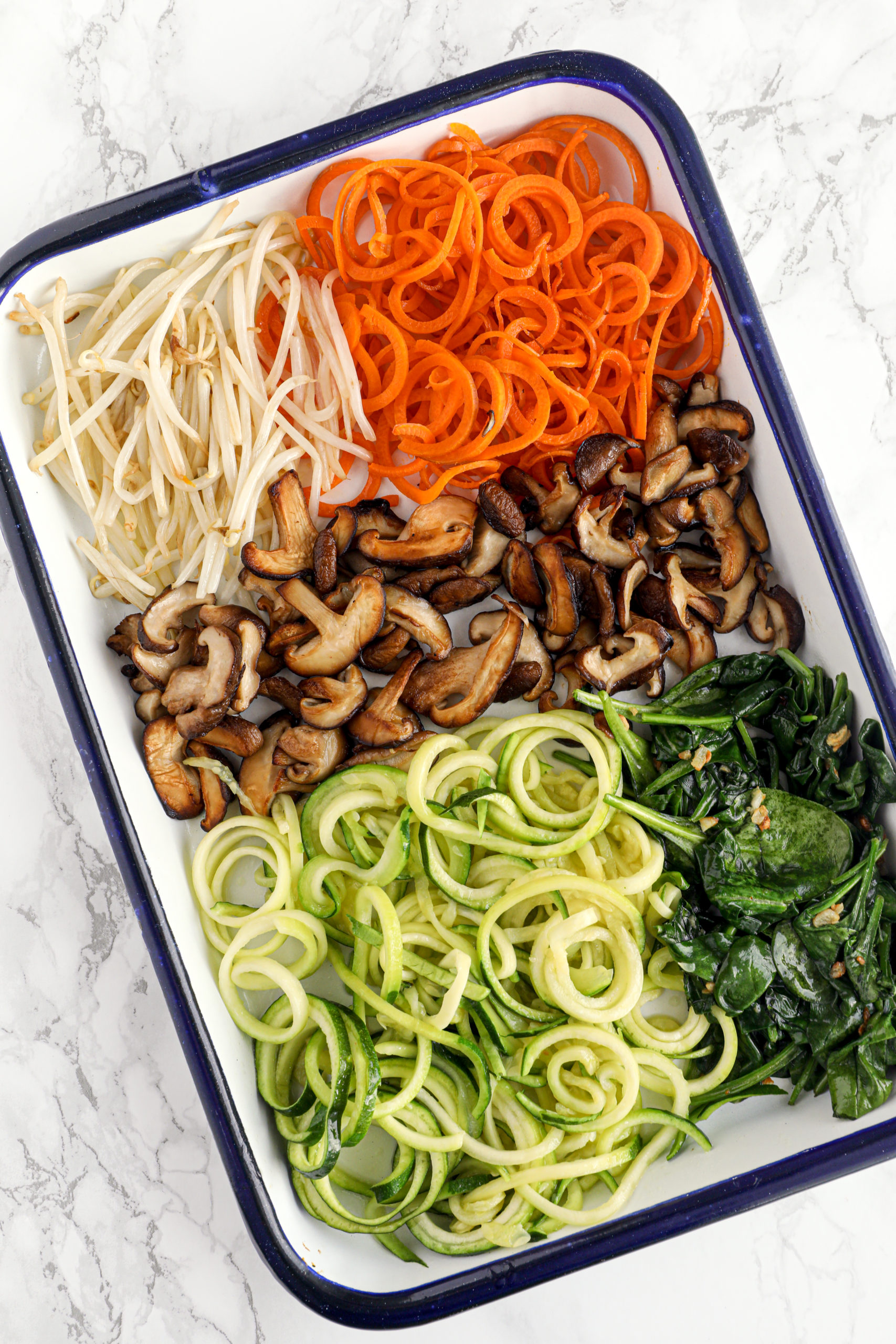 Spiralized Bibimbap
