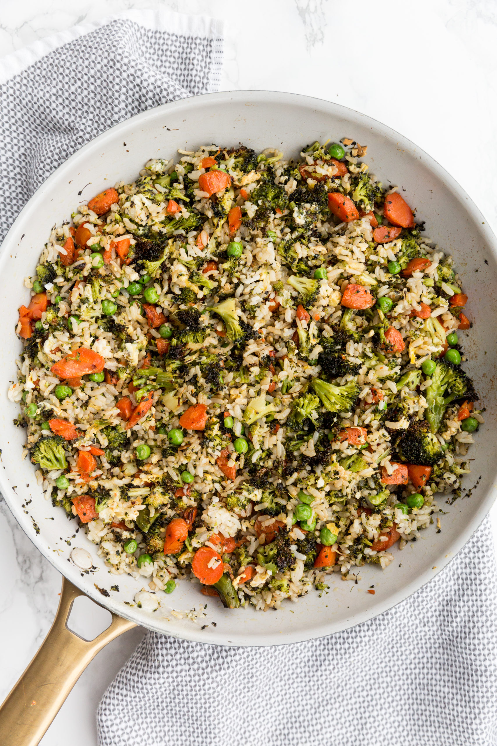 Roasted Vegetable Fried Rice