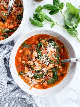 Zucchini and White Bean Stew