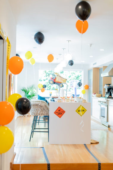 Luca's Construction Themed 3rd Birthday Party