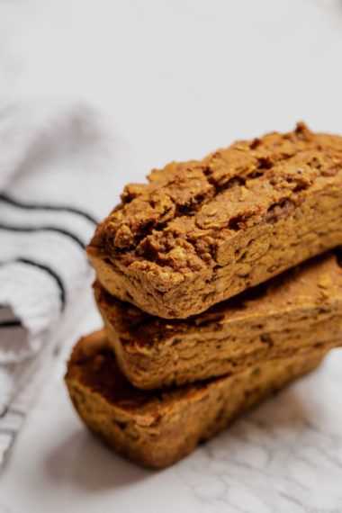 Vegan Chia Pumpkin and Oat Snacking Loaf