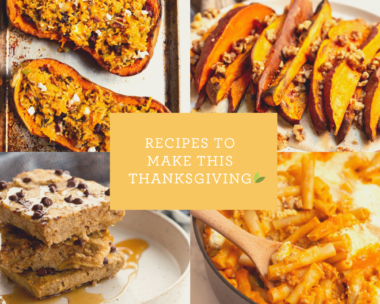 Recipes to Make This Thanksgiving