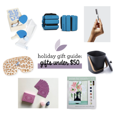 Holiday Gift Ideas for Under $50 2020