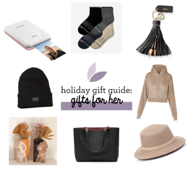 Holiday Gift Ideas for Her 2020
