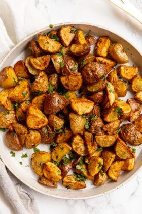 Air Fryer Taco Breakfast Potatoes