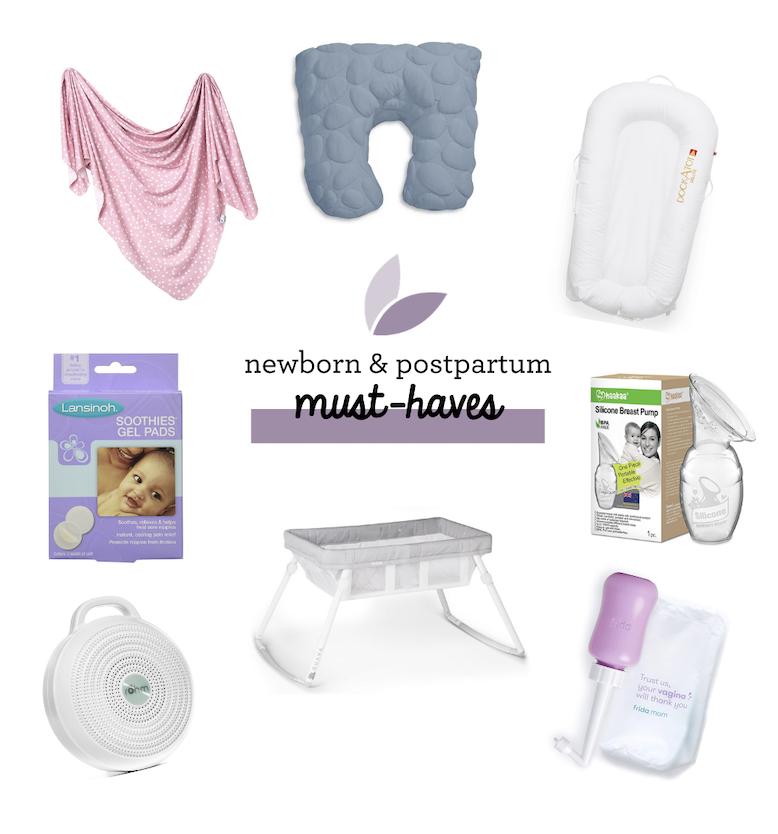 Newborn Baby and Postpartum Essentials: The Ultimate List