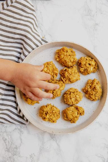 Pumpkin Oat Cookie Drops